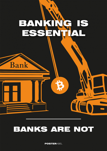 Banking is essential - banks are not